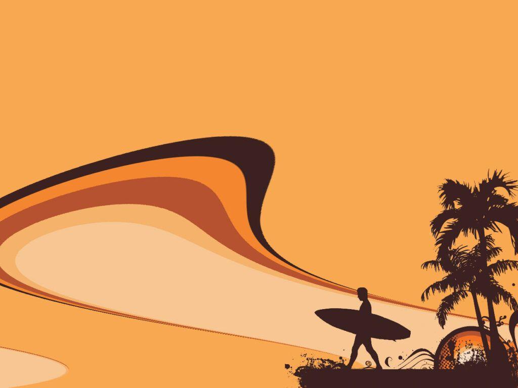 Plantilla de Presentación surf