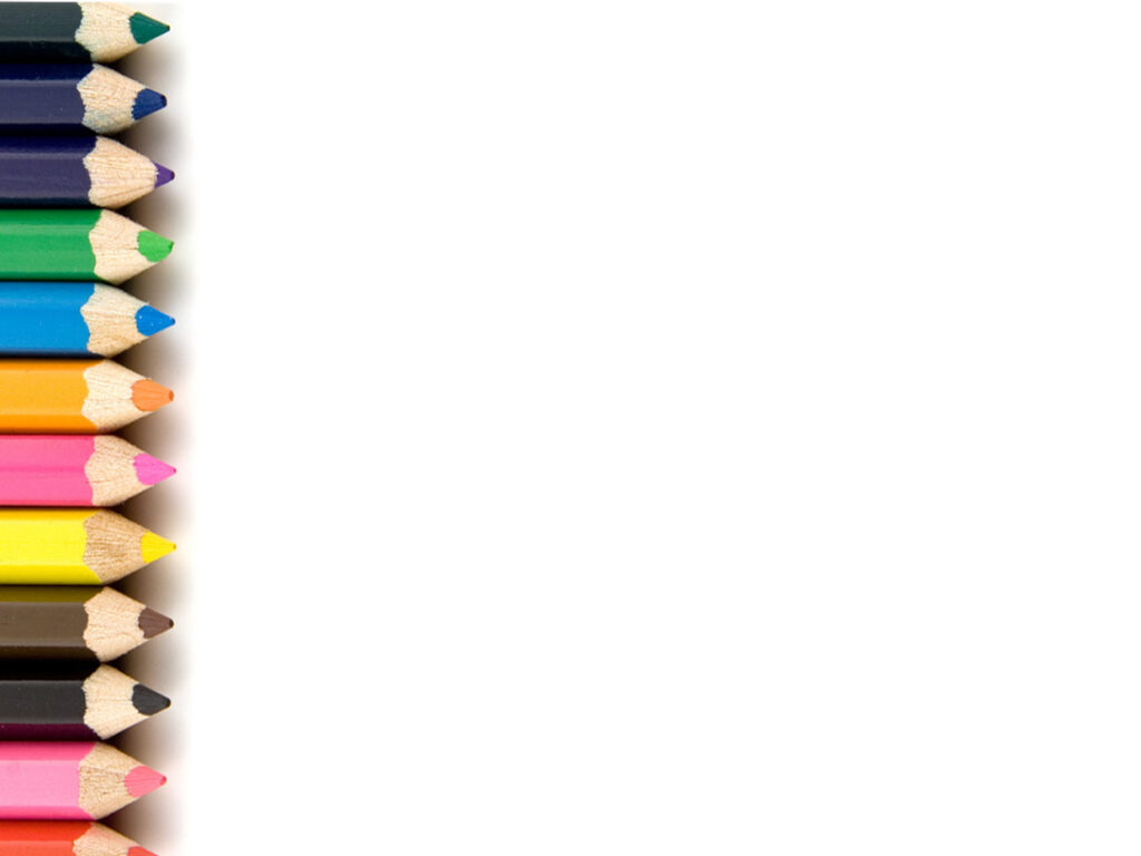 Plantilla de presentación de crayones