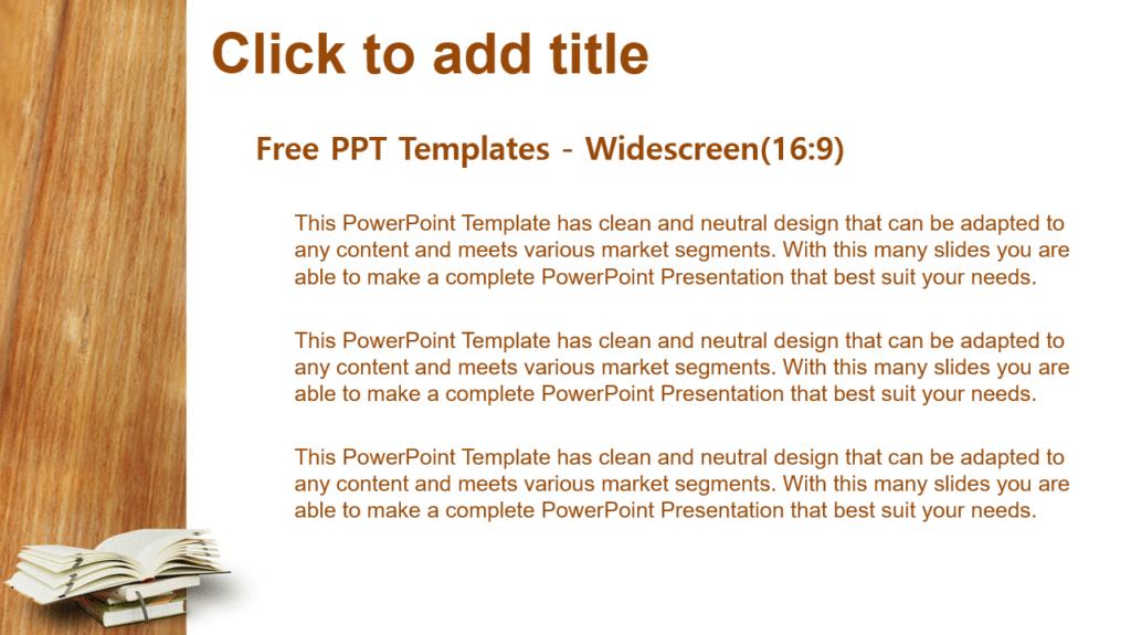 PPT libro para PowerPoint